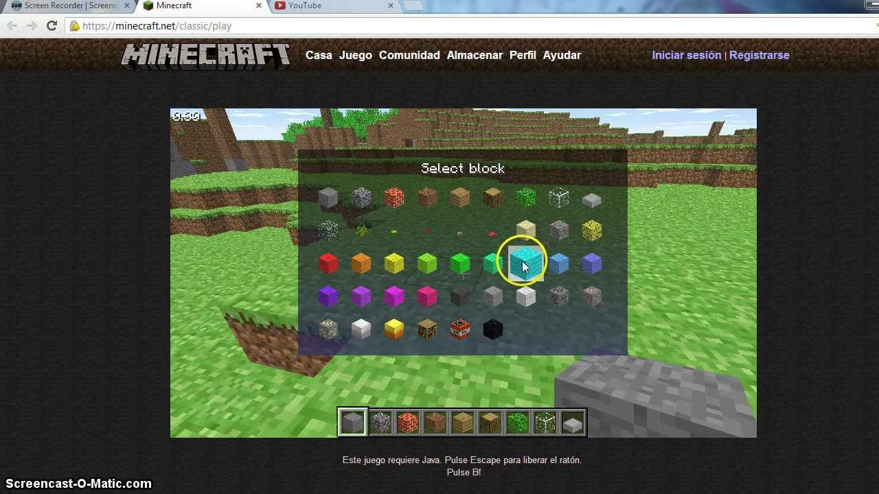 Minecraft Sin Java