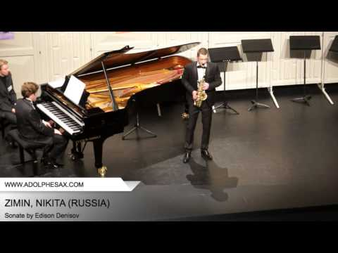 Dinant 2014 - Zimin, Nikita - Sonate by Edison Denisov