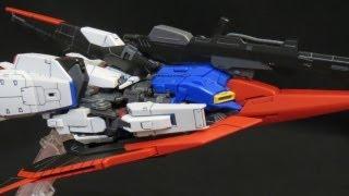 RG Zeta Gundam (Part 3: Transform) Kamille Bidan & Judau Ashta Gunpla model review ガンプラ view on youtube.com tube online.