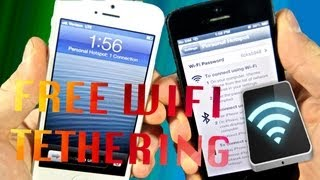 How To Get FREE Tethering On IPhone 5/4S/4/3Gs IOS 6.1.3/6