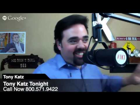 Tony Katz Tonight Radio - 3/27/14 - Hypocrisy of Politicos and Media