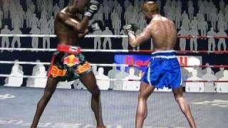 Muay Thai Video Game WIP