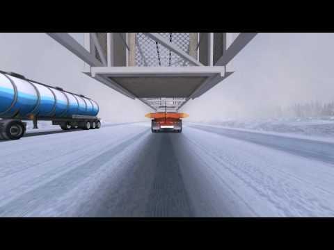 Скриншоты 18 стальных колес: Экстремальные дальнобойщики