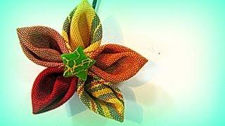 Como Hacer Flores De Tela Para El Cabello Con Pétalos En