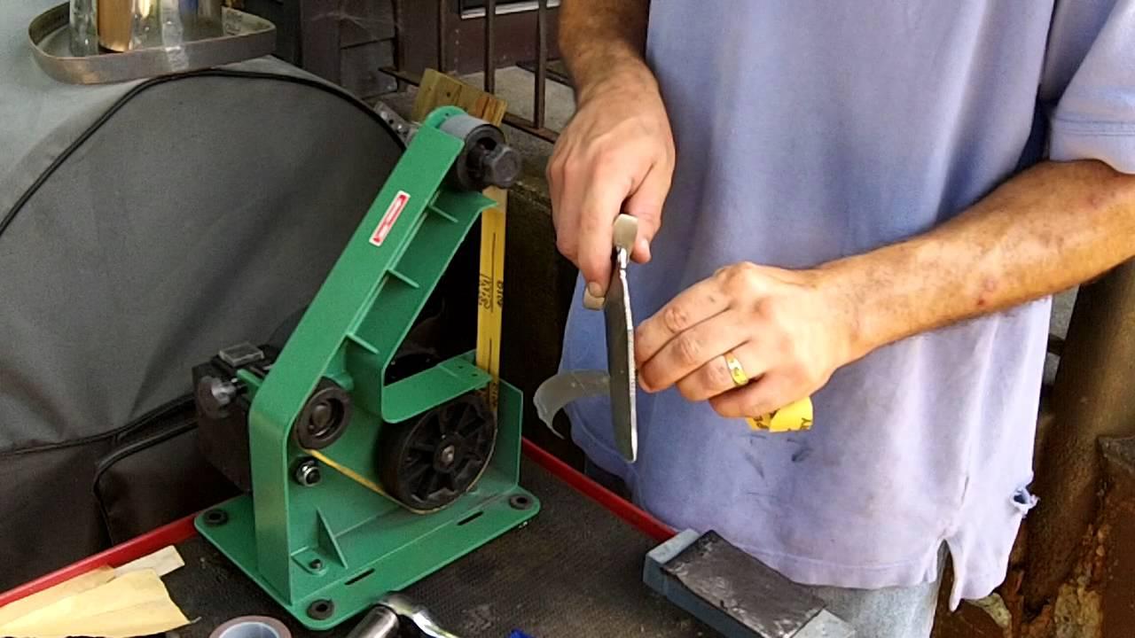 Belt grinder knife making uk