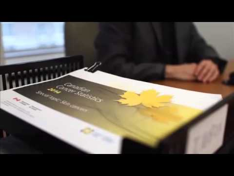 B-roll for the release of the Canadian Cancer Statistics 2014