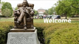 Congratulations and Welcome to Duke!