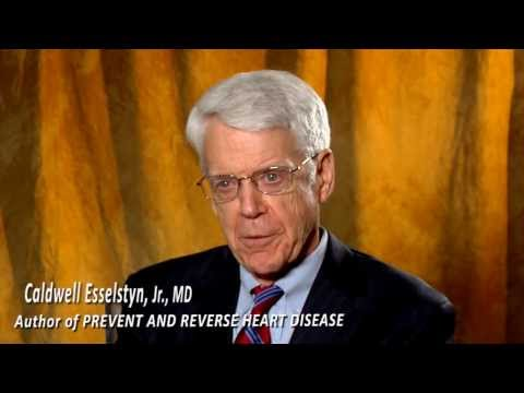 Caldwell B. Esselstyn, Jr., MD on how to reverse heart disease part 1