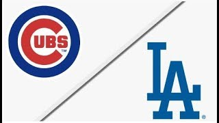Chicago Cubs vs Los Angeles Dodgers   NLCS Game 2 Full Game Highlights