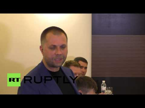 Ukraine: Ceasefire broken by Kiev troops, says Borodai