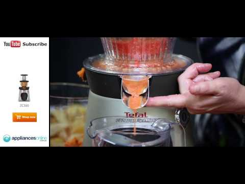 Moulinex Slow Juicer - Moulinex Infiny Press Revolution ZU5008 Entsaft