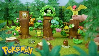 Pokemon Forest RE-MENT Miniatures | Candy Toy