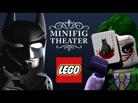 LEGO The Dark Knight -- Minifig Theater