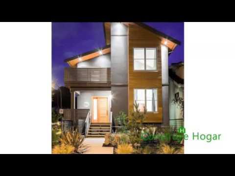 Fachadas de casas modernas facades modern houses youtube for Colores de moda para fachadas