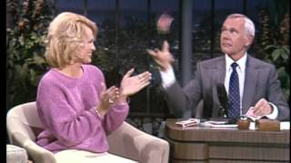 Johnny Carson Teaches Card Tricks to Angie Dickinson