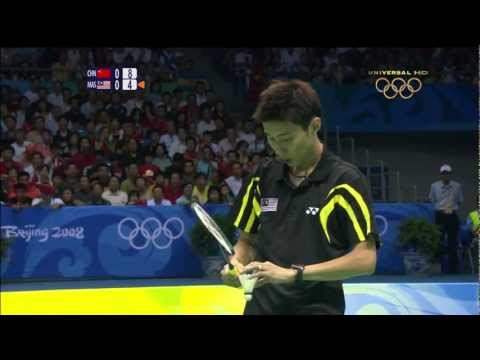 Beijing 2008 Olympics Badminton MSF Lin Dan vs Lee Chong Wei