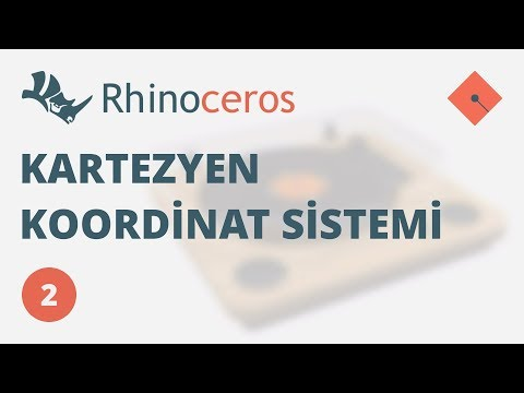 Yakın Kampüs – Rhinoceros 4 Ders 2 – Kartezyen Koordinat Sistemi (Türkçe)