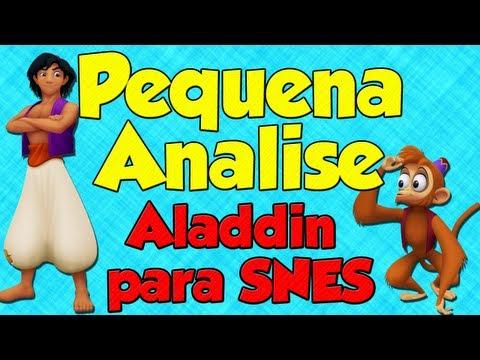 Pequena analise - Aladdin para Super Nintendo
