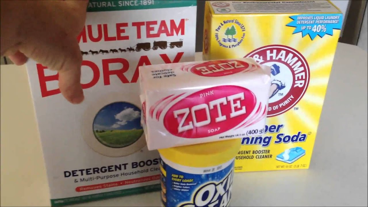 Diy Make Your Own Powder Laundry Detergent Youtube