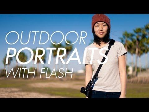 Strobist Outdoor Flash Portraits and High Speed Sync (Yongnuo YN-622c) Off-Camera Flash