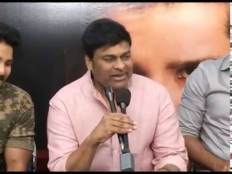 Juvva Movie Teaser Launch By Chiranjeevi