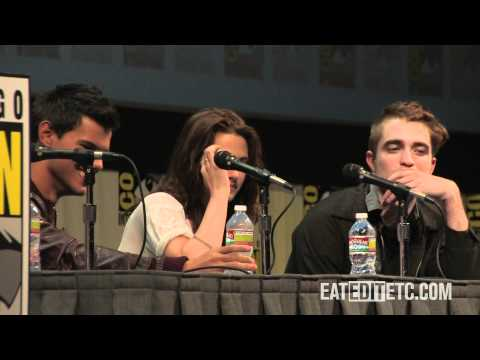 SDCC 2011: Twilight Breaking Dawn Panel Part 1