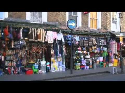 Portobello road market Notting Hill London