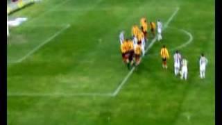 07/12/2008 Lecce-Juventus 1-2: il gol di Giovinco visto dalla Tribuna Est