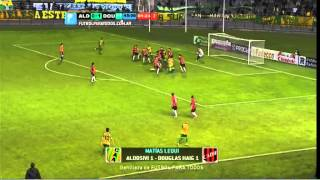Los goles de Aldosivi 1 - Douglas 1. Fecha 8. Primera B Nacional 2014. FPT