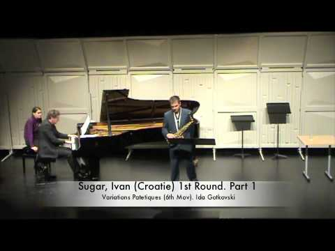 Sugar, Ivan (Croatie) 1st Round. Part 1