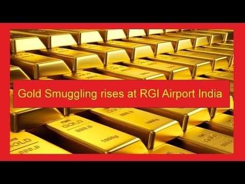 Gold smuggling on the rise at RGI Airport Hyderabad