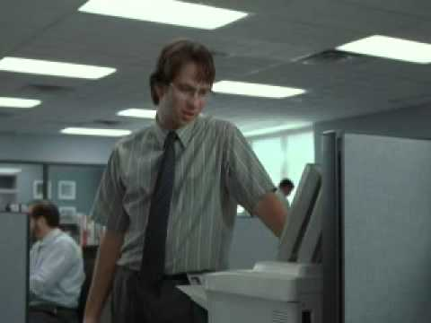 Office Space- PC Load Letter - YouTube