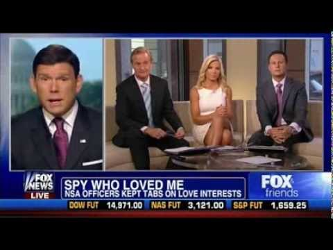 Fox & Friends Hosts Quiz Bret Baier on NSA Pick-Up Lines