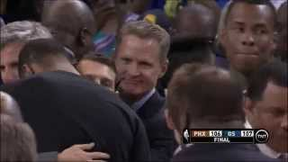 Harrison Barnes game-winner: Phoenix Suns at Golden State Warriors
