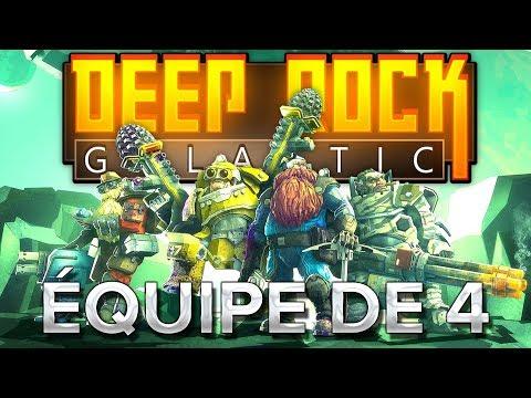 Deep Rock Galactic #2 : En équipe de 4 !