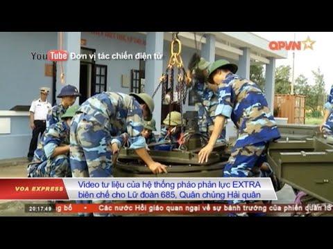 Quân đội VN phủ nhận tin triển khai pháo phản lực ở Trường Sa