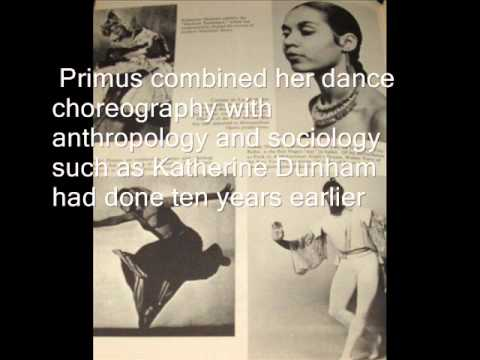 Pearl Primus: Anthropology Through African Culture and Dance