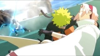 Team 7 Reunites Naruto , Sakura , Kakashi Vs Sasuke