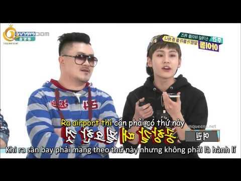 [VNQ's][Vietsub] Weekly Idol 140507  - Jiyeon cut