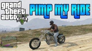 GTA V Pimp My Ride #35 LCC Hexer (Chopper Style