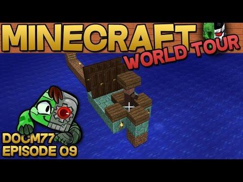 Villager Breeding Minecraft 1.8 - The Minecraft World Tour - S4E09 | Docm77