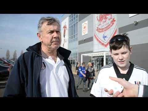 Cardiff v Fulham vox pop