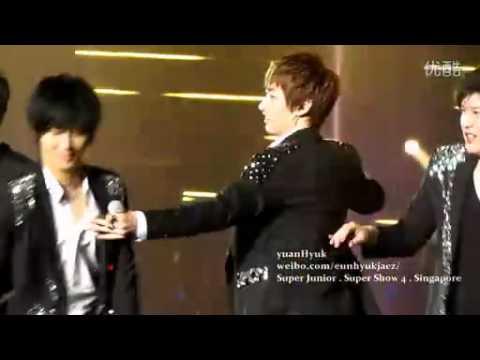 [Fancam]120218.SS4 Singapore Miracle EunHyuk Focus