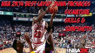 NBA 2K14 My Career Best Dunk/Layup Packages Best