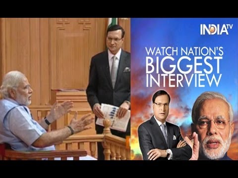 Narendra Modi in Aap Ki Adalat 2014, Full Episode