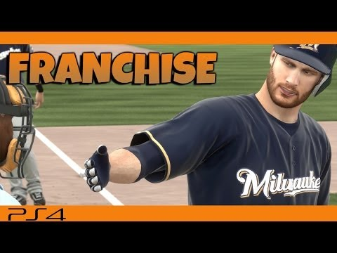 MLB 14 The Show Franchise PS4 | Milwaukee Brewers