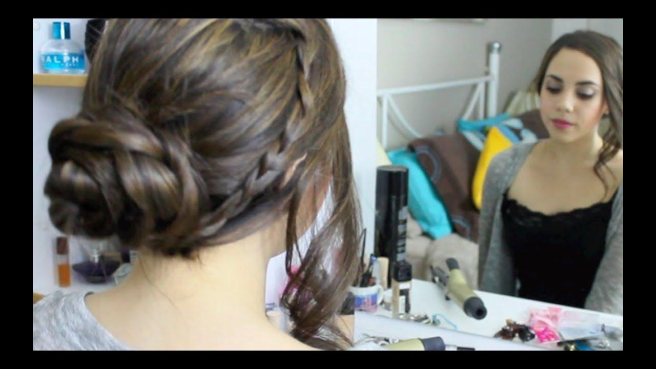 5 peinados r pidos y f cil de hacer youtube - Como hacer peinados faciles ...