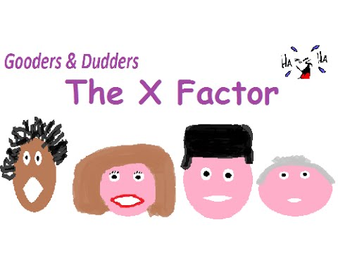 The X Factor dubbed, spoof, sketch - Cheryl Cole, Simon Cowell, Louis Walsh, Mel B)