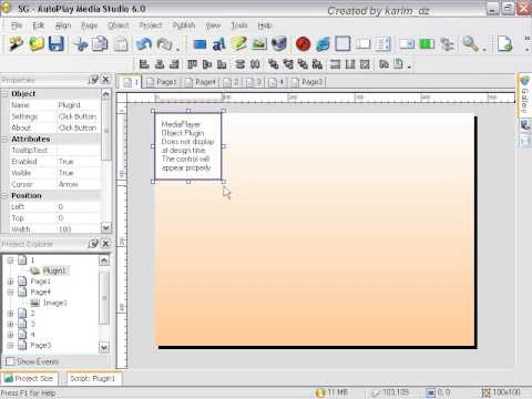 Auto play media studio cd maker part 2  lesson 37