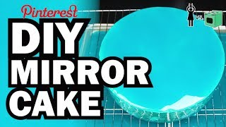 DIY Mirror Cake, Corinne VS Cooking #9